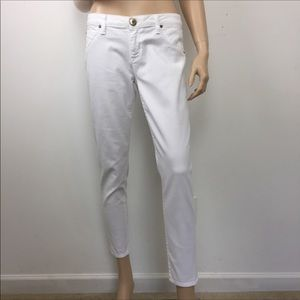 Hudson White Ankle skinny Jeans Size 31